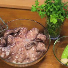 Как правильно готовить осьминога