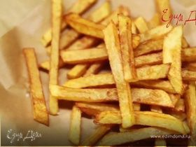 Жарим картофель фри без масла