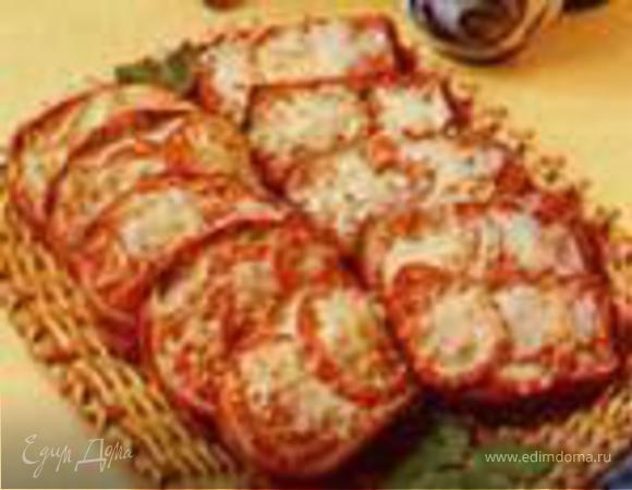 """""""Тартинки с помидорами и сыром"""""""