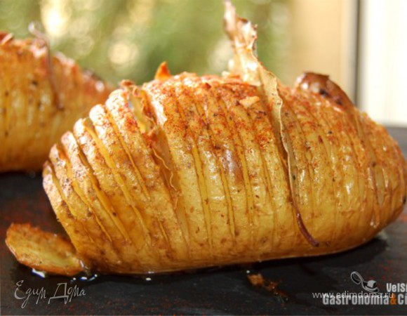 Картофель Hasselback или Hasselbackpotatis