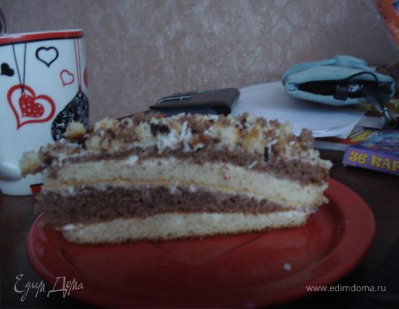 """Торт """"Сметанный"""""""