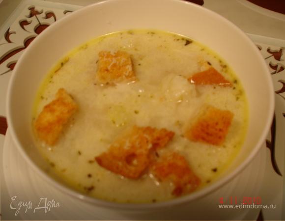 суп пюре из цветной капусты с плавленным сыром рецепт