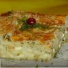 Пирог из лаваша с сыром, творогом и зеленью