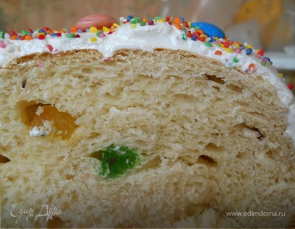 Кулич масляный от Елены Бо (для хлебопечки)