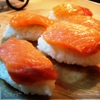 Нигири-суши с лососем