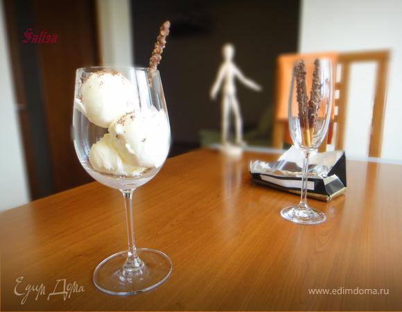 """Мороженое из маскарпоне """"Скорей бы лето!!!"""""""
