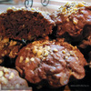 Шоколадные кексы с изюмом и ...яблоком