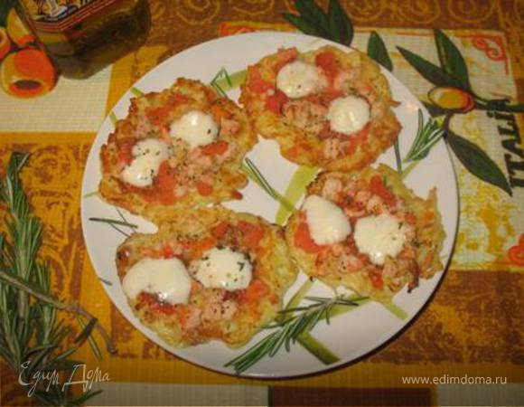 Мини-пицца на завтрак