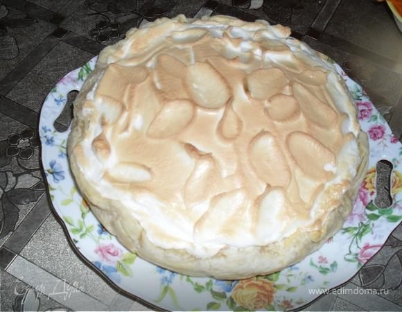 """Творожный пирог """" Из того, что было..."""""""