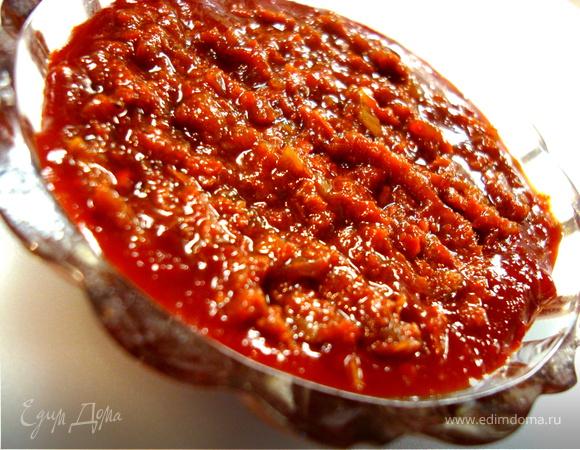 Перечная паста. Рецепт №1. Корея.