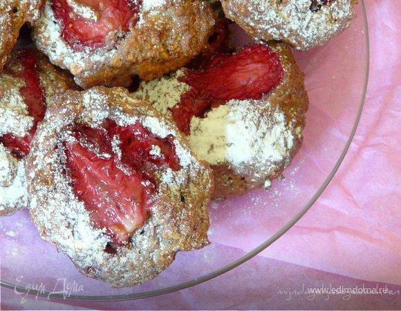 Ароматное овсяное печенье