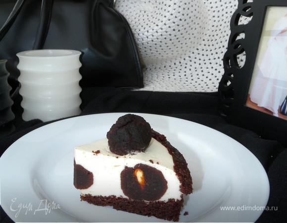 """Торт """"Ч/Б трюфель"""""""