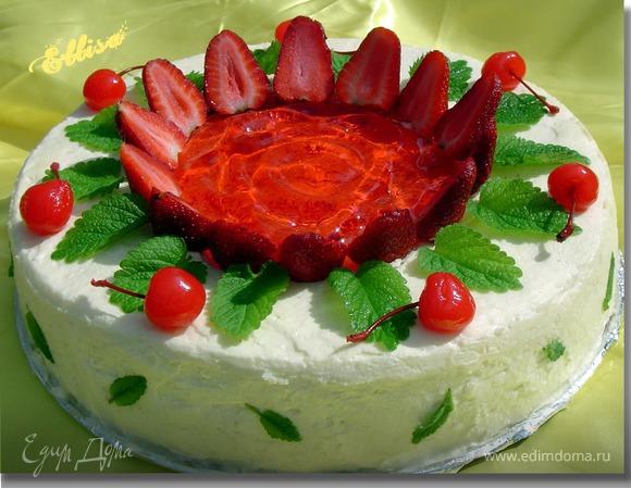 """Торт """"Весеннее настроение"""""""