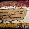 """""""МИЛЬФЕЙ"""" - Торт-мороженое с кофе и шоколадом."""