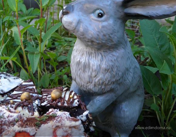 """""""Жак"""" с розмарином, шоколадом и клубникой"""