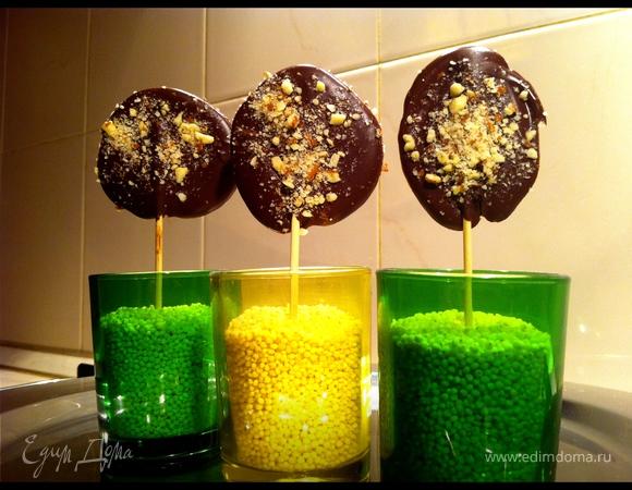 Шоколадный lollipop