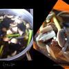 Грибной супчик с морской капустой и телятиной