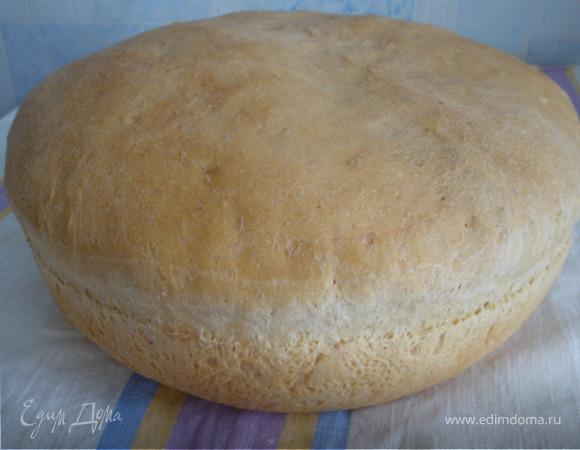 Хлеб со смальцем и луком
