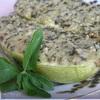 Кабачки под орехово-мятным соусом