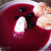 То ли суп, то ли десерт....( Ягодный суп с манными клецками)