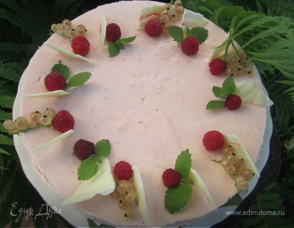 """Торт - суфле """"Персиковый"""""""