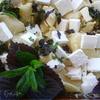 Лумакони с фетой и базиликом