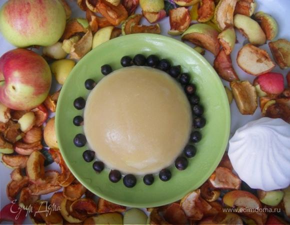 Нежное яблочное суфле с сюрпризом