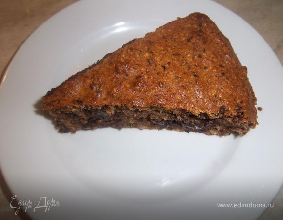 """Шоколадный торт """"Два ореха"""""""