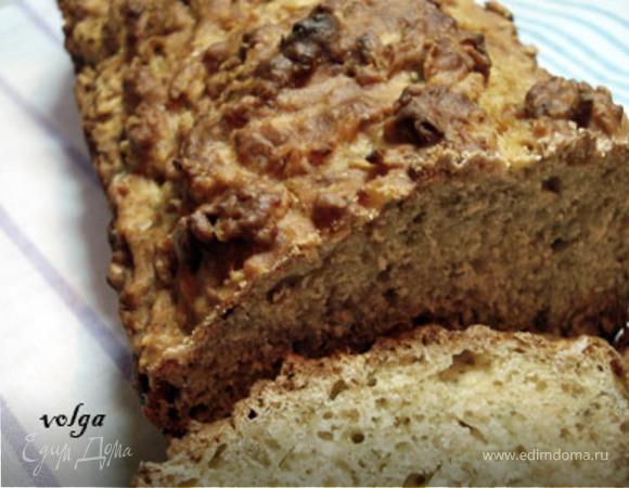 Пшенично-овсянный хлеб