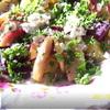 Свекольный салат с творогом (диетическое меню)