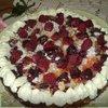 Абрикосово-малиновый пирог.