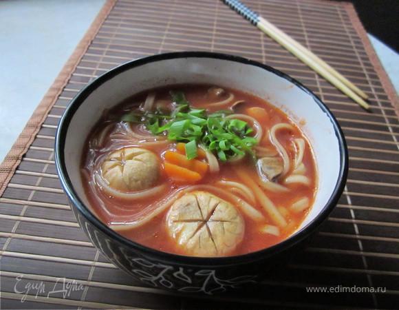 мисо суп рецепт с лапшой удон