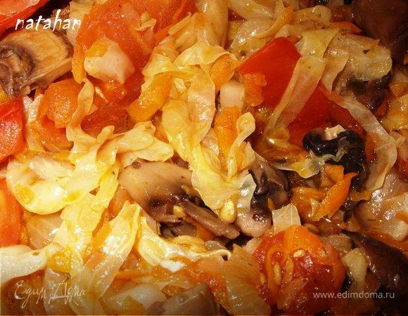 Солянка овощная
