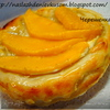 Пирожные со сливой, манго и козьим сыром