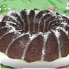Шоколадный кекс с черничным джемом и корицей (Tescoma)