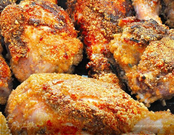 """""""Внезапные Гости"""" - Цыпленок с медом и розмарином, Чечевичное пюре, Мягкое мороженое"""