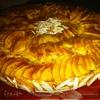 Миндально-яблочный пирог