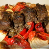 Каре барашка по-средиземноморски с печеными овощами