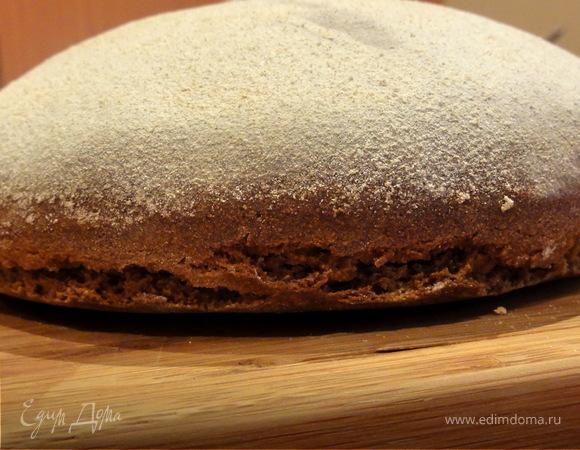 Финский ржаной хлеб (без дрожжей)