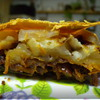 Пирог с яблоками, сельдереем и сушеной грушей