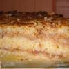 Яблочный пирог из сухого теста