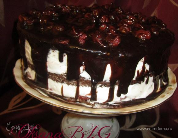 "Торт ""Вишня в шоколаде"""
