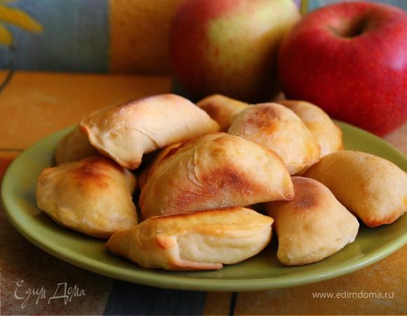 Творожные печенья с грушей