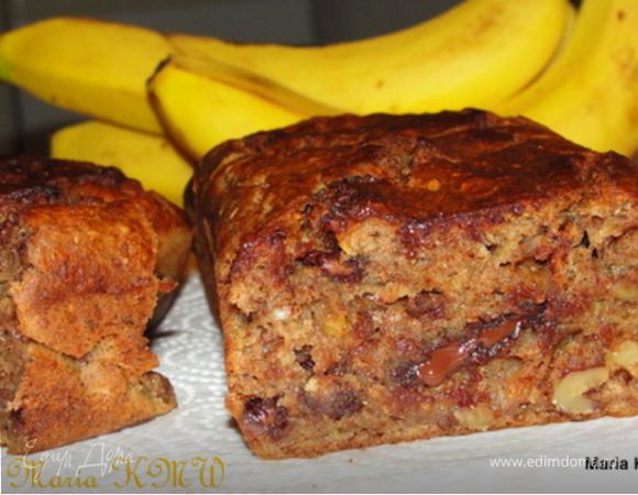 Сладкий, банановый хлеб