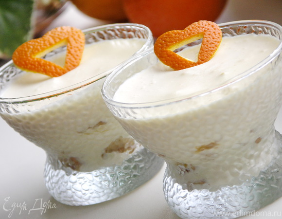 Апельсиновые мягкие пирожные