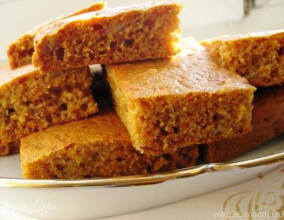 Медово-морковный пирог