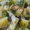 Картофельный салат с кукурузой