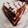 """Настоящий """"Дьявольский торт"""" (Devil's food cake) без красителей"""