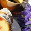 Марципановый кекс с вяленой вишней