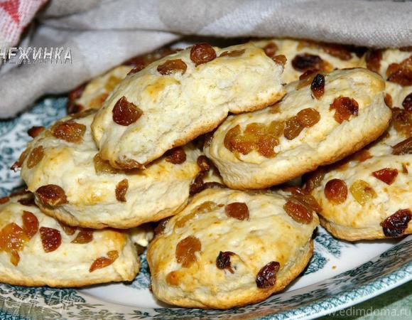 «Сконы» (шотландские булочки на пахте)